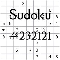 Sudoku №232121