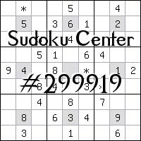 Centre de Sudoku №299919