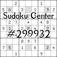 Centre de Sudoku №299932