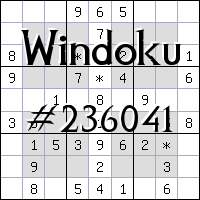 Windoku №236041