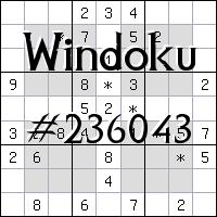 Windoku №236043