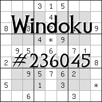 Windoku №236045