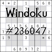 Windoku №236047