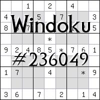 Windoku №236049