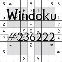 Windoku №236222