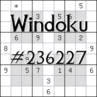 Windoku №236227
