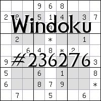Windoku №236276