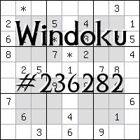 Windoku №236282
