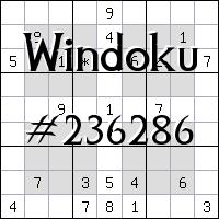 Windoku №236286