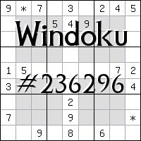 Windoku №236296