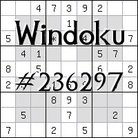 Windoku №236297