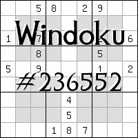 Windoku №236552