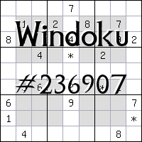 Windoku №236907