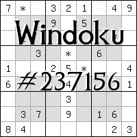 Windoku №237156