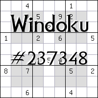 Windoku №237348