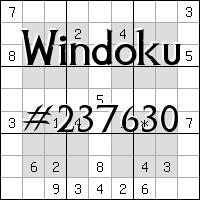 Windoku №237630
