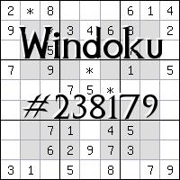 Windoku №238179