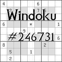 Windoku №246731