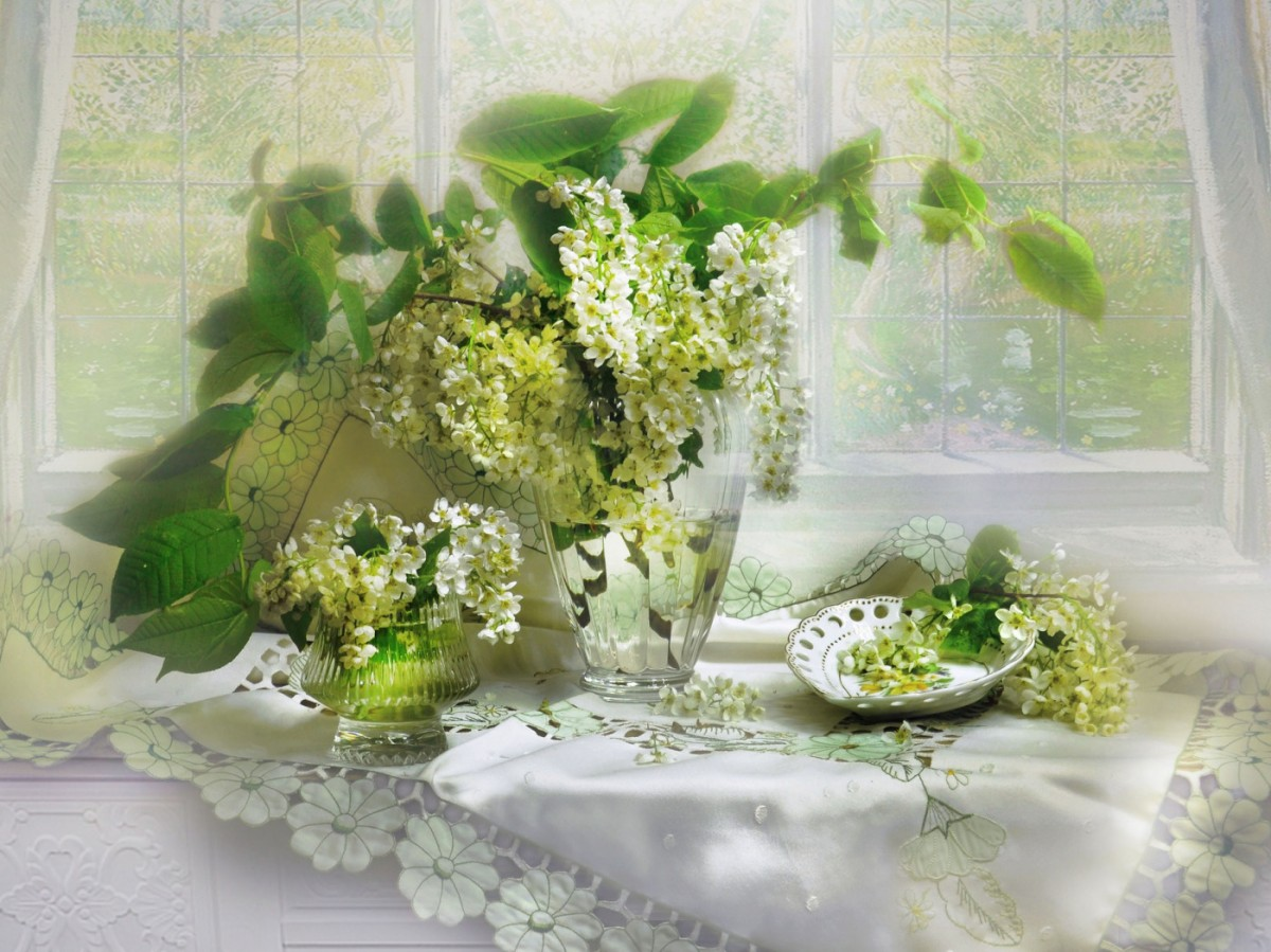 Puzzle Recueillir des puzzles en ligne - Bouquet of wild cherry