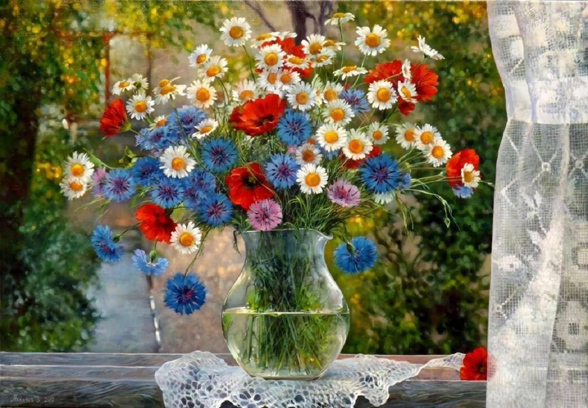 Puzzle Recueillir des puzzles en ligne - A bouquet of wild flowers