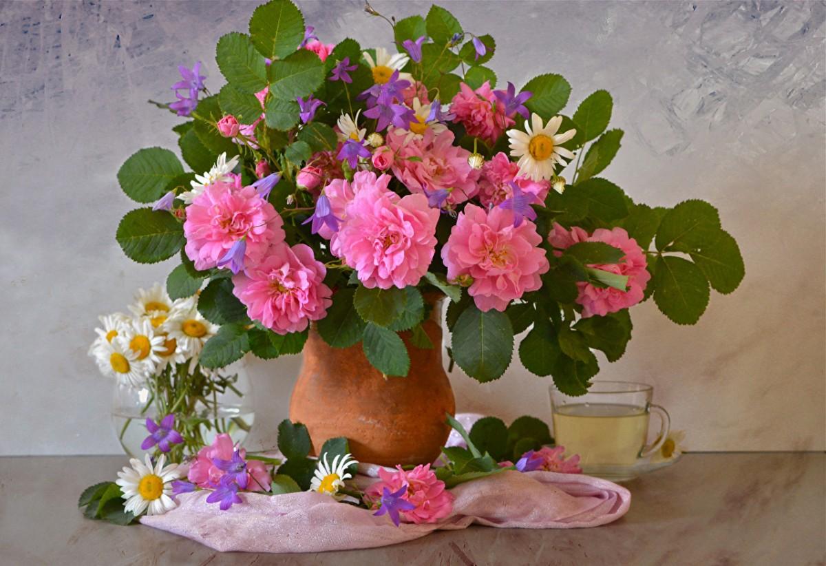 Puzzle Recueillir des puzzles en ligne - A bouquet of flowers