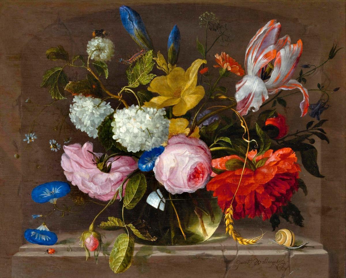 Puzzle Recueillir des puzzles en ligne - Bouquet in a vase