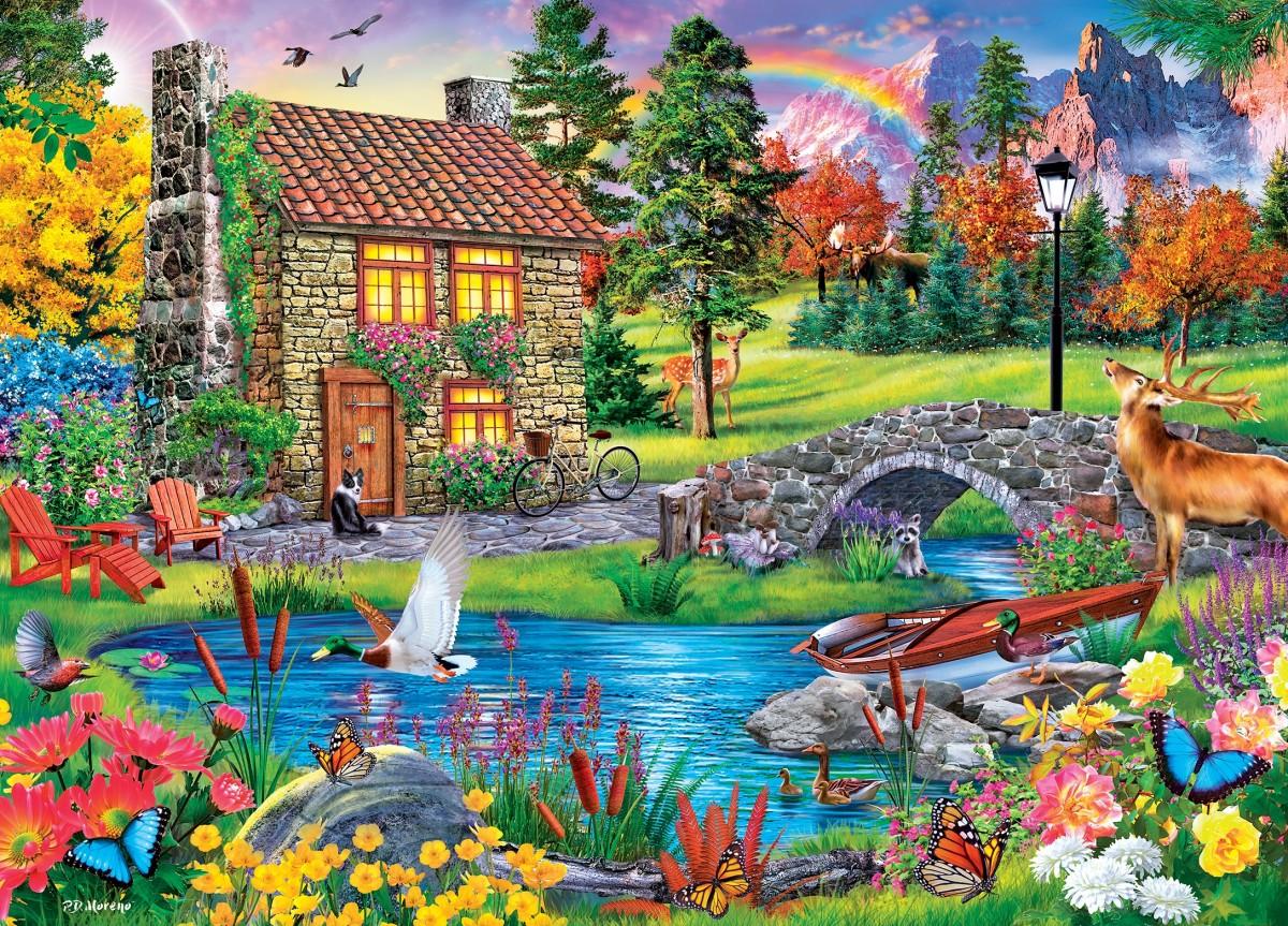 Puzzle Recueillir des puzzles en ligne - The house hunter