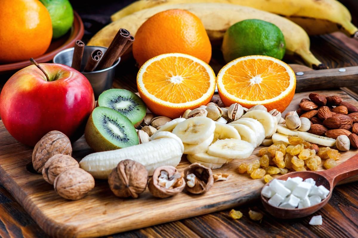 Puzzle Recueillir des puzzles en ligne - Fruit and nuts