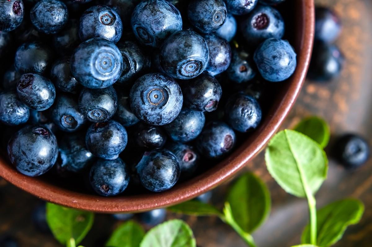 Puzzle Recueillir des puzzles en ligne - Blueberries in a bowl