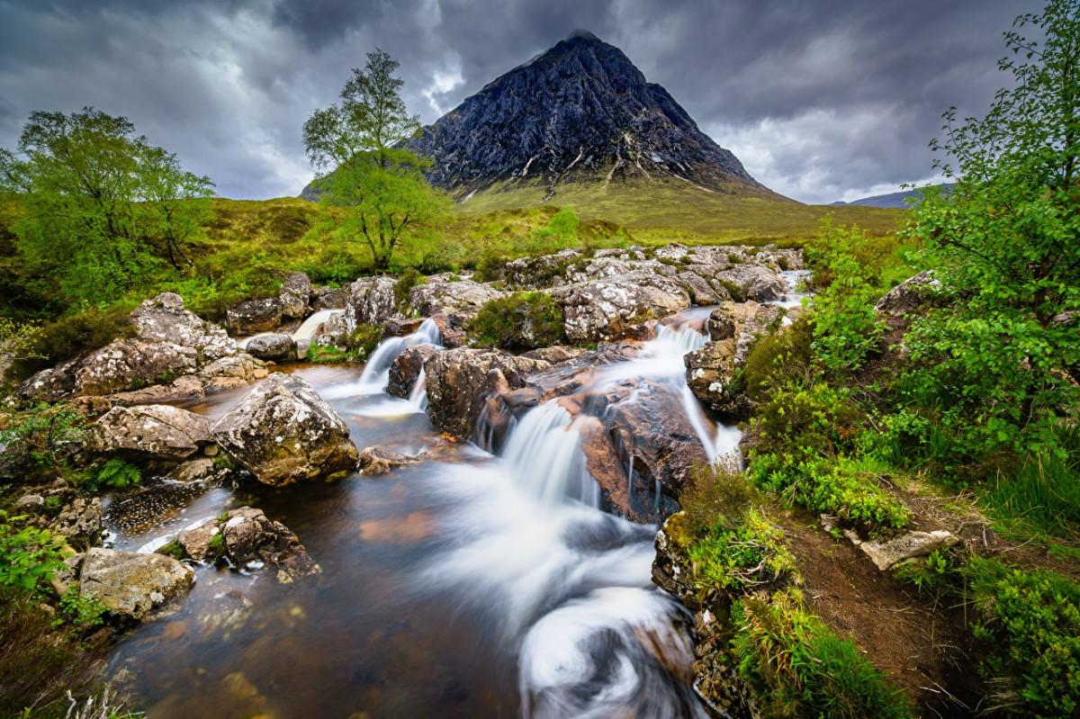 Puzzle Recueillir des puzzles en ligne - Mountain in Scotland