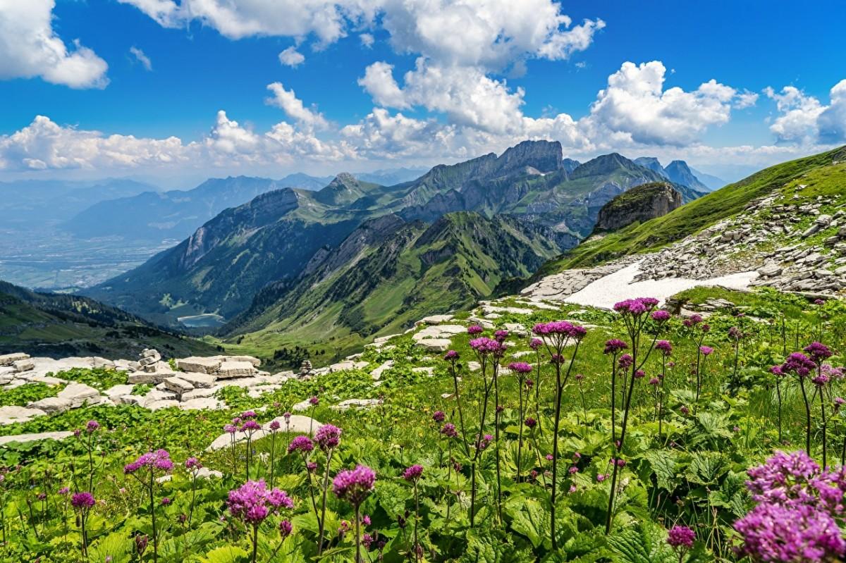 Puzzle Recueillir des puzzles en ligne - Churfirsten mountains
