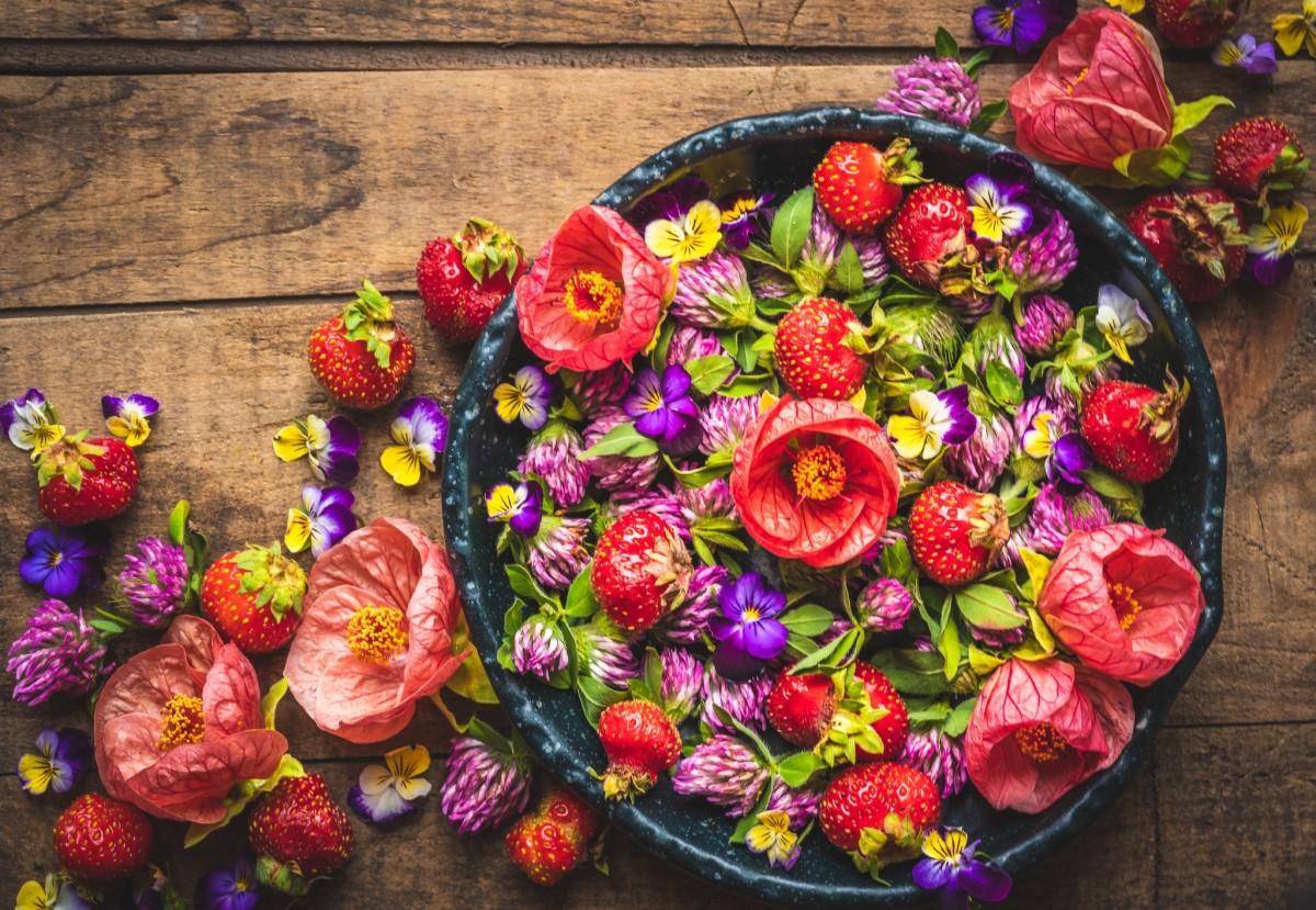 Puzzle Recueillir des puzzles en ligne - Strawberry colors