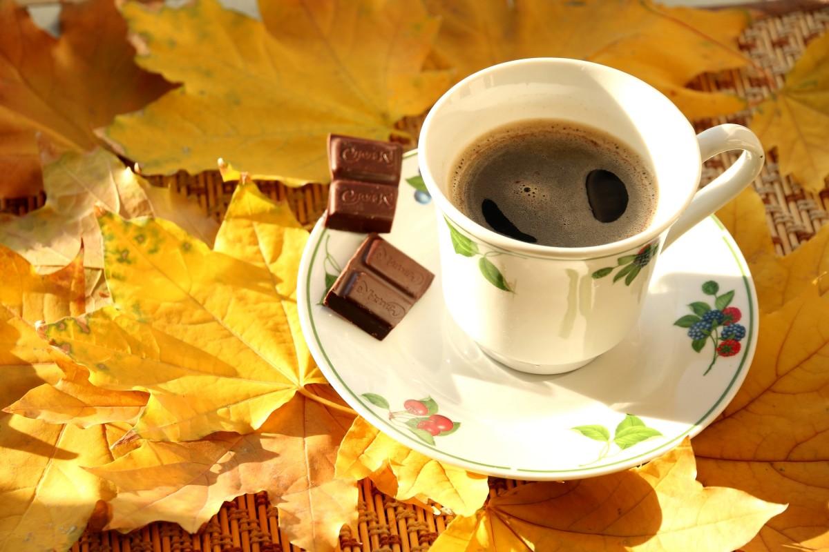 Puzzle Recueillir des puzzles en ligne - Coffee on an autumn morning