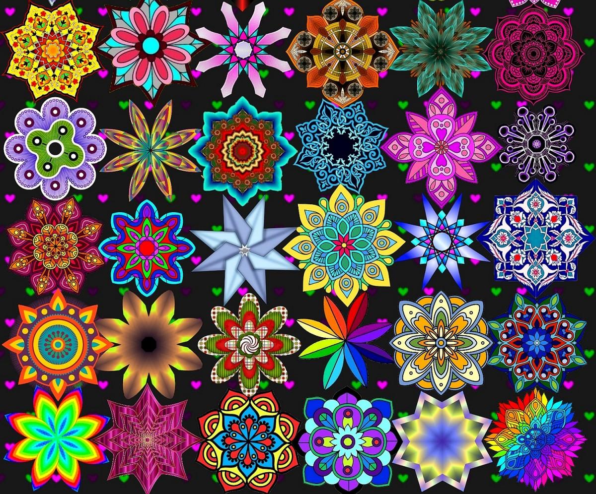 Puzzle Recueillir des puzzles en ligne - Mandala