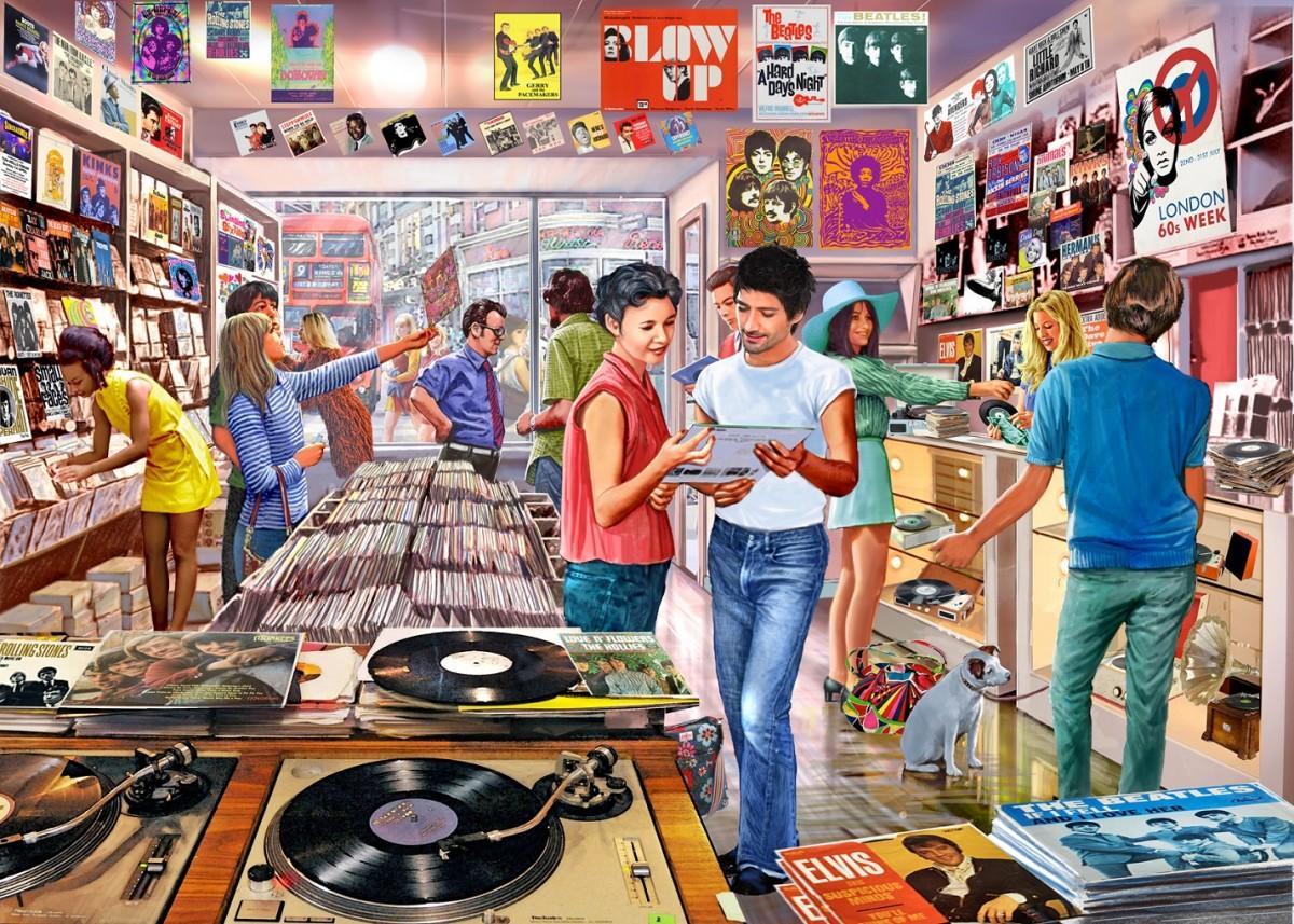 Puzzle Recueillir des puzzles en ligne - Music store