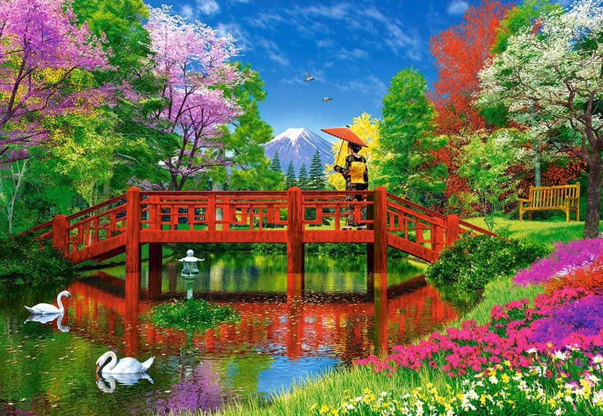 Puzzle Recueillir des puzzles en ligne - On the bridge