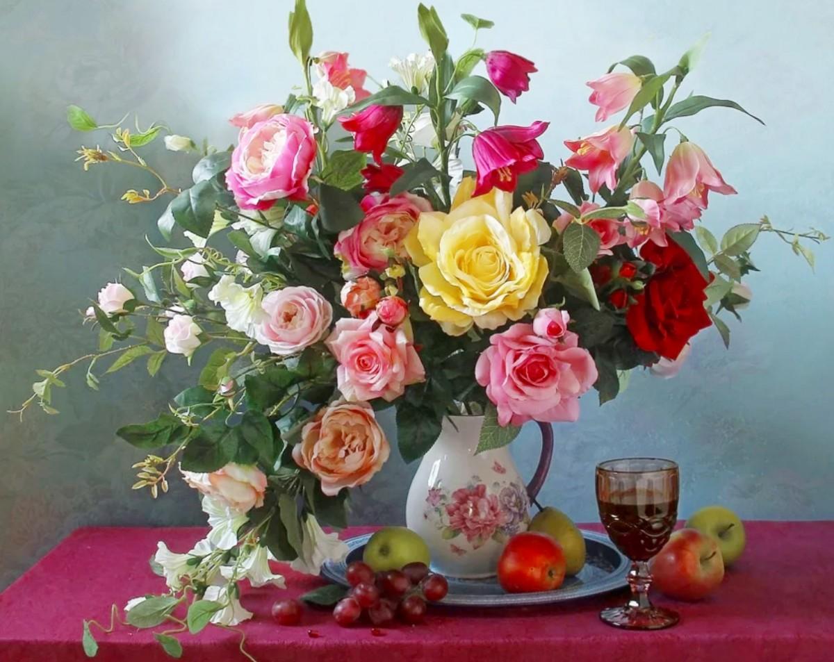 Puzzle Recueillir des puzzles en ligne - Still life with flowers