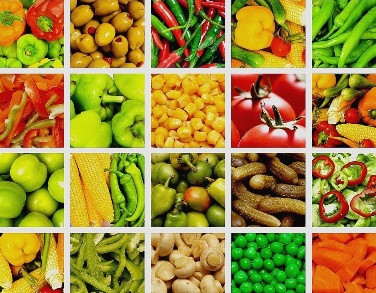 Puzzle Recueillir des puzzles en ligne - Vegetable collage