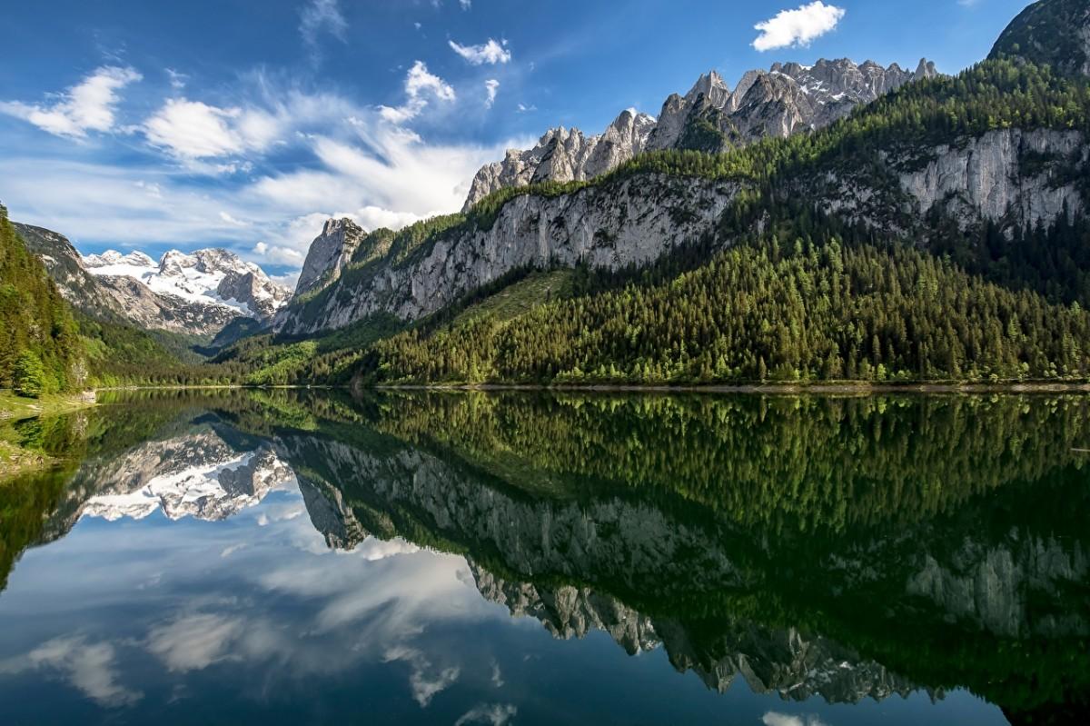 Puzzle Recueillir des puzzles en ligne - The lake in Austria