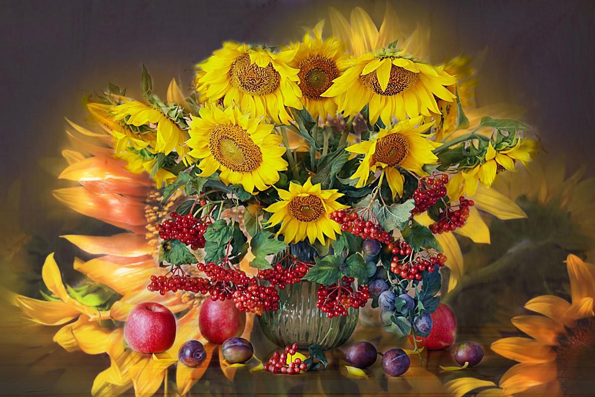 Puzzle Recueillir des puzzles en ligne - Sunflowers