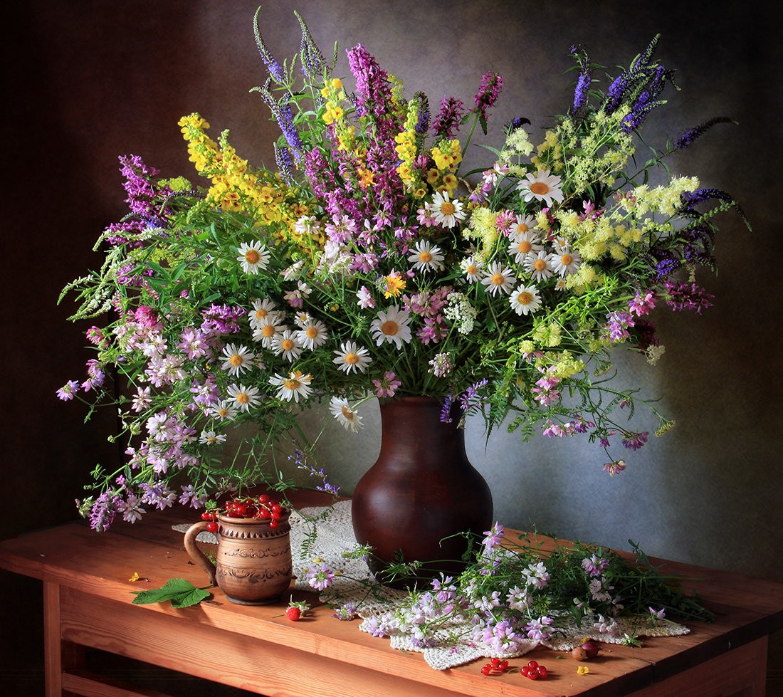 Puzzle Recueillir des puzzles en ligne - Wild flowers
