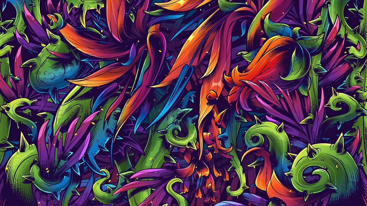 Puzzle Recueillir des puzzles en ligne - Floral pattern