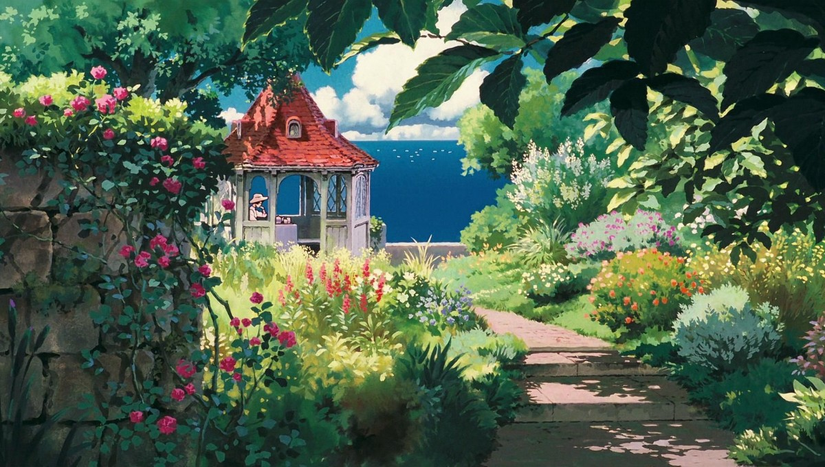 Puzzle Recueillir des puzzles en ligne - Steps to the gazebo