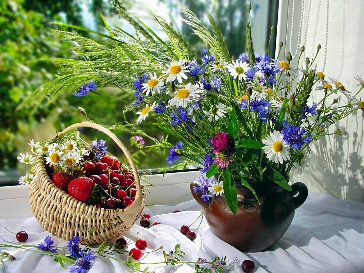 Puzzle Recueillir des puzzles en ligne - Flowers and berries