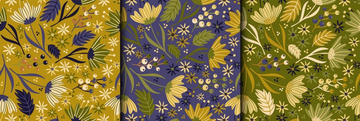 Puzzle Recueillir des puzzles en ligne - Floral panel
