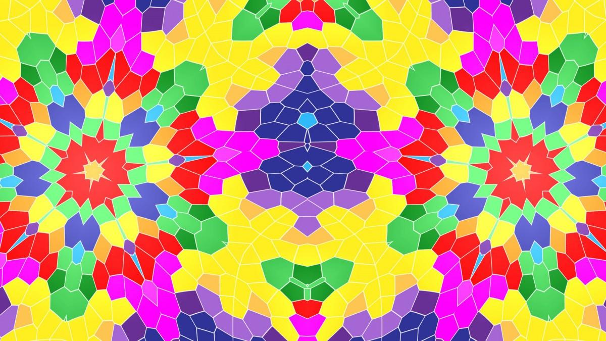 Puzzle Recueillir des puzzles en ligne - Cellular kaleidoscope