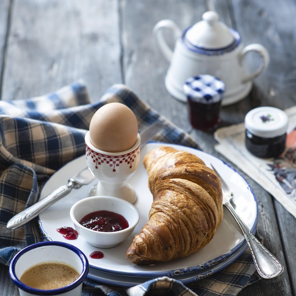 Puzzle Recueillir des puzzles en ligne - The egg and croissant