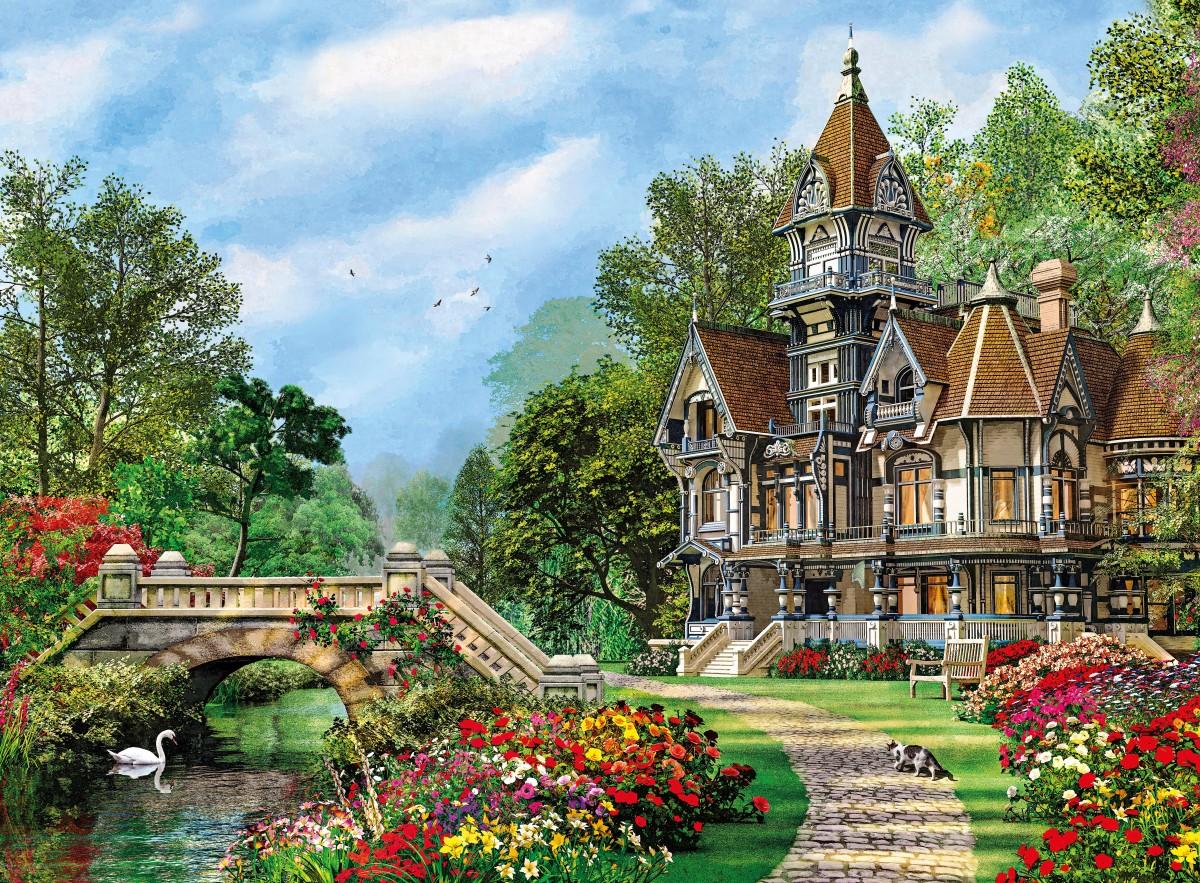 Puzzle Recueillir des puzzles en ligne - Castle