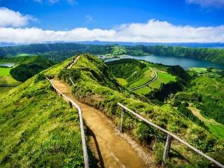 Собирать пазл Azores онлайн