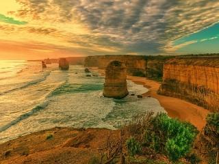 Собирать пазл Coast Australia онлайн
